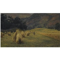 høystakker, rydal, cumbria by thomas fearnley