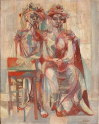 deux femmes by hella guth