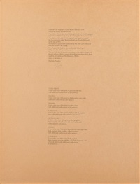 six latin writers and poets by cy twombly