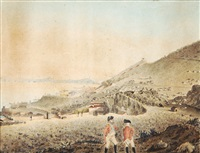 view of gibraltar by william (lieutenant-colonel) booth