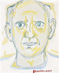 portrait de picasso by beauford delaney