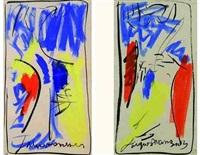 fugues 2 et 3 (pair) by jacques mennessons