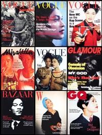 fashion magazine covers series (set of 9) by iké udé