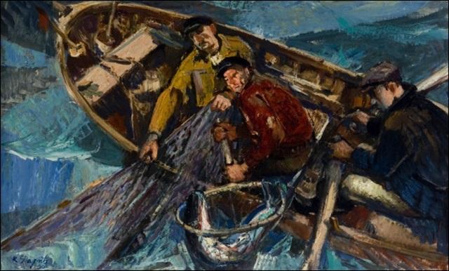 kalastajat by richard sagrits