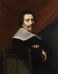 portrait eines herren by jacob van hasselt