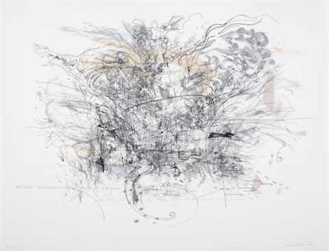 rogue ascension by julie mehretu