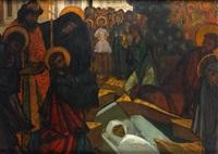la mise au tombeau by serge kislakoff