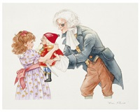 a nutcracker, she said with joy, thank you, godfather (from the nutcracker) by thea kliros
