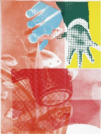 for love (from 11 pop artists, volume iii) by james rosenquist