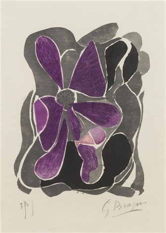 untitled from lettera amorosa by georges braque
