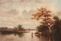 paesaggio by jules dupré