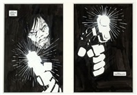 sin city (2 works) by frank miller
