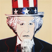 uncle sam (from myths) by andy warhol