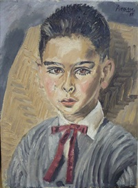 portrait de jeune garçon by aram (michael gottlieb)