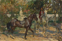 the morning ride by john lavery