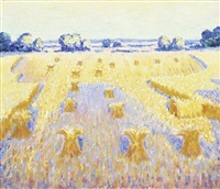 sheaths of wheat by norman lloyd