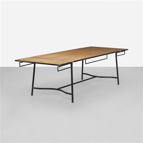 dining table by jacques adnet