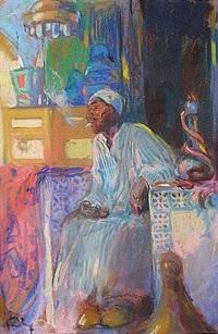 dans la medinah by louis fortuney