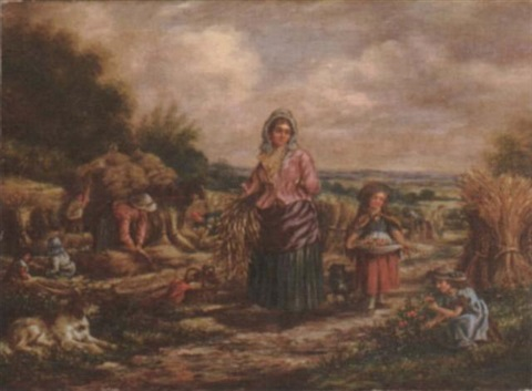 harvest time by alfred moginie bryant
