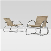 lounge chairs (pair) by geo