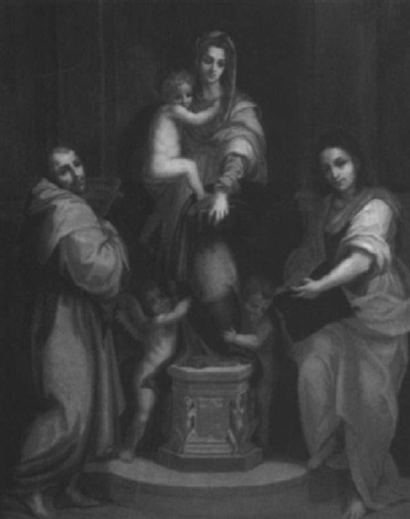 madonna of the harpies by william tuthill