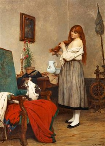 la toilette by camille alfred pabst