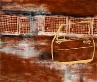 composition with car door by ivan andersen