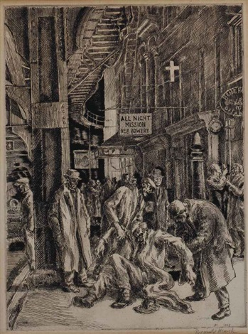 smokehounds by reginald marsh