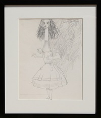 untitled (alice) by knox martin