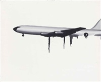 untitled (aeroplane) by wilhelm sasnal
