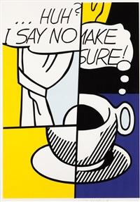 ...huh? by roy lichtenstein