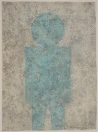 persona je en azul by rufino tamayo