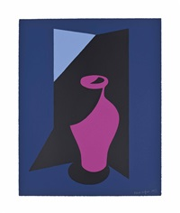 vase, from: the royal academy of arts members portfolio by patrick caulfield