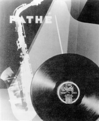 publicité pour les disques pathé by andré vigneau
