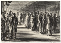 the bowery by reginald marsh