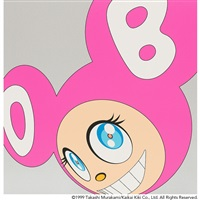 and then pink by takashi murakami