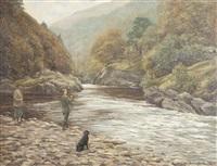 casting the line by william ellis barrington-browne