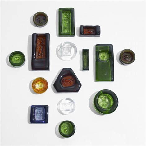 objects set of 15 by erik höglund