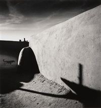 running dog, taos pueblos, new mexico, u.s.a by michael kenna