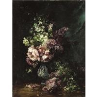 flowers by albert tibule furcy de lavault
