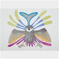 spirit owl by kenojuak ashevak