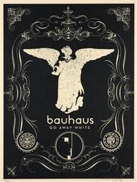 bahaus (silver & black) (2 works) by shepard fairey