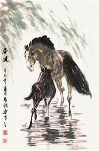 春风 (landscape) by ma xinle