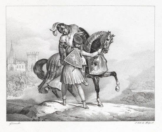 lara blessé by théodore géricault