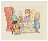 the three bears (cover from the three bears) by thea kliros