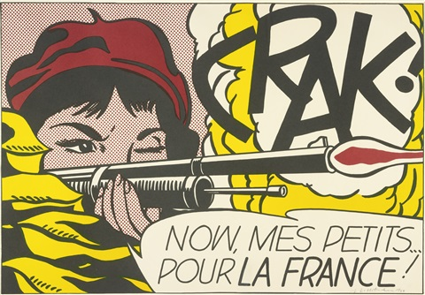 crak by roy lichtenstein