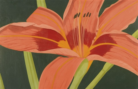 tiger lily by alex katz