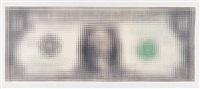 ohne titel (dollar bill) by tom friedman