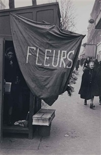 sans titre (fleurs), paris by robert frank