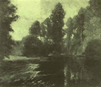 l'etang by a. bastien